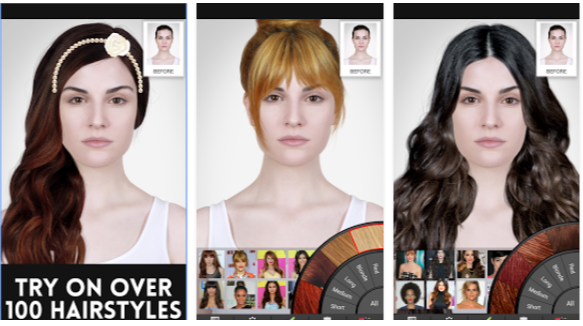 Celebrity Hairstyle Salon App Android