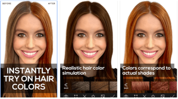 Hair Color Studio - App Android