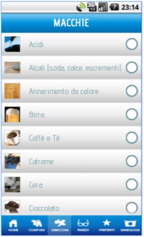 Applicazione WashApp - App Lavatrice