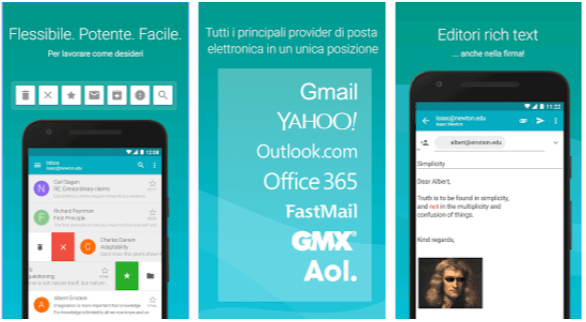Aqua Mail App Android