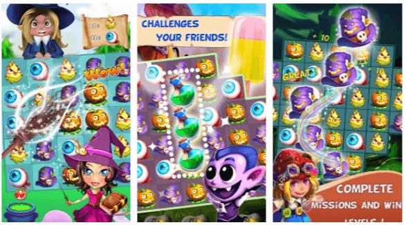 Halloween Witch App Android