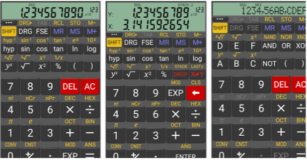 RealCalc Scientific Calculator - App per Device Android