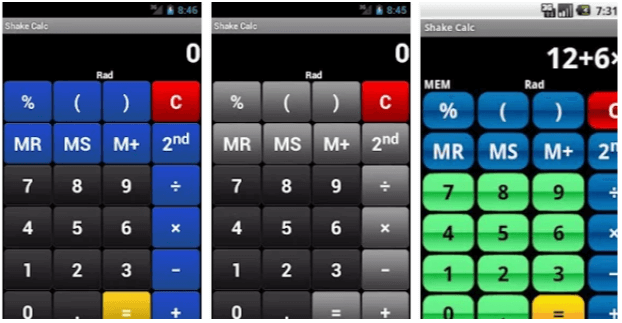 Shake Calc App Calcolatrice Android