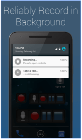 Tape-a-Talk Voice Recorder - App Android
