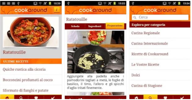 app cucina gratis Cookaround
