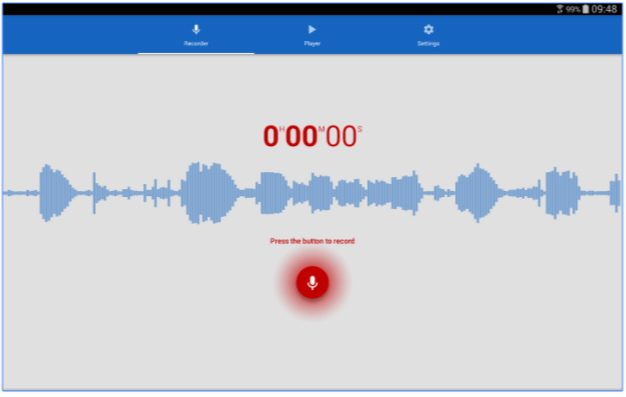 registratore vocale app per android