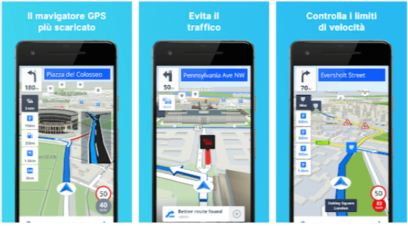 Mappe offline e navigazione GPS Sygic - App Android