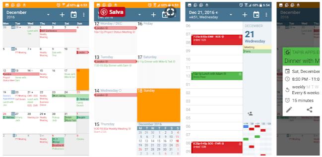 app per calendario