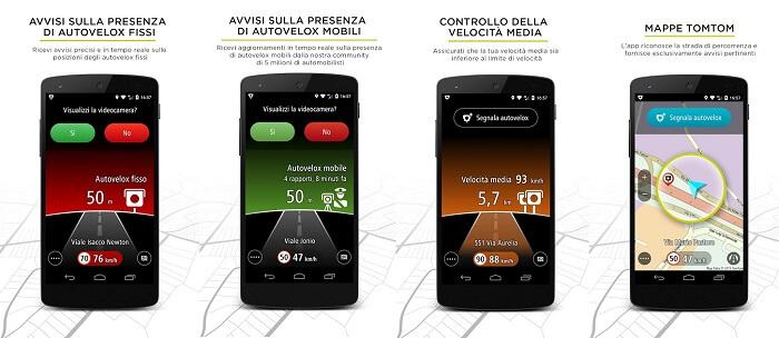 app tomtom autovelox