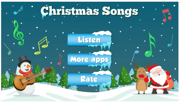 christmas song app android