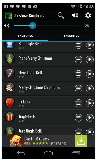 suoneria natalizia android