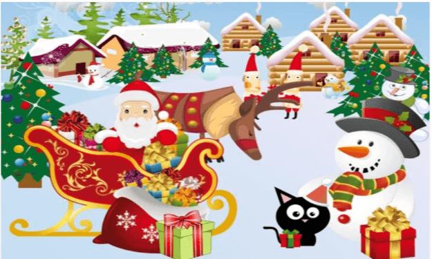 Aguzza la vista di Natale - App bambini