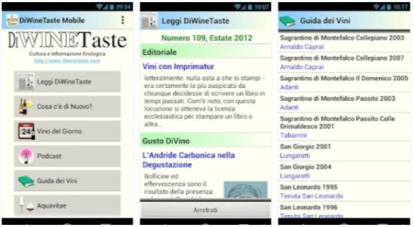 DiWineTaste Mobile - Applicazione vino android