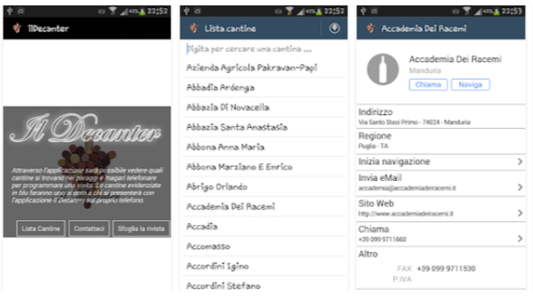 Il Decanter - App vino Android