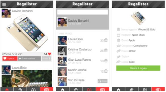 Regalister App Regali Android