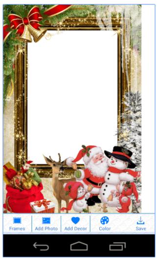 app foto natalizie cornici natale