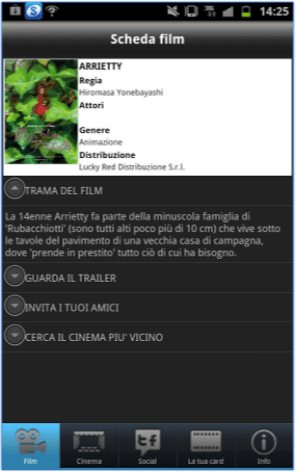 App Grande Cinema 3 per Android
