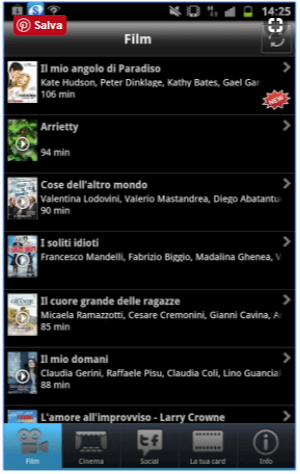Grande Cinema 3 - App Androidper Cinema