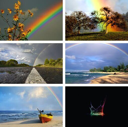 sfondi arcobaleno