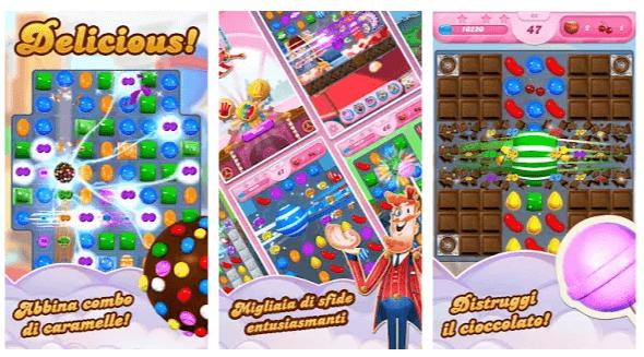 candy cush saga