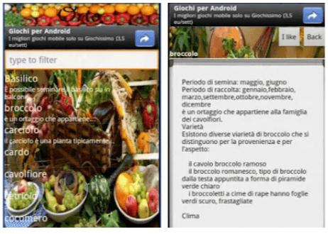 Orto Versione free - App Android