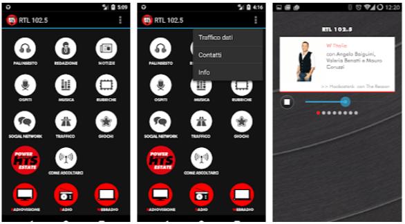 RTL 102.5 - App Android radio