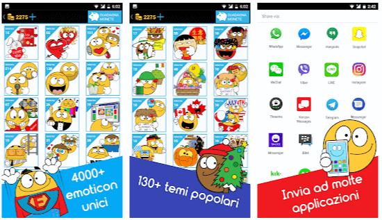 faccine di wa app