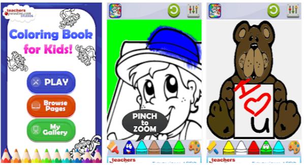 giochi android bambini Libro da colorare