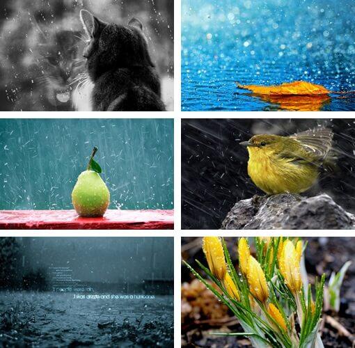 sfondi pioggia