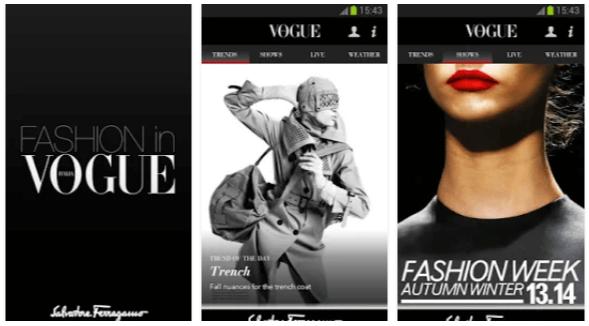 vogue app
