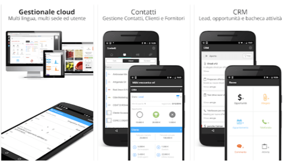 software gestionale gratis Giobby App Android