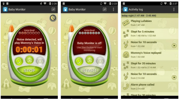 Baby Monitor allarme - App Android