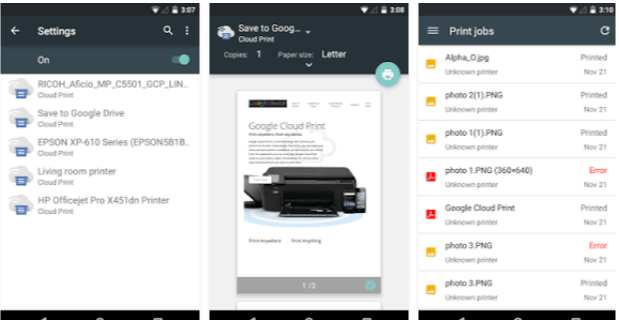 Cloud Print - App Android