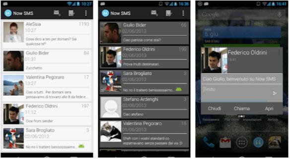 app sms gratis Now SMS