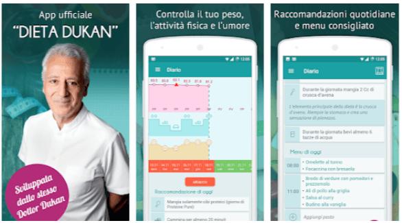 Dieta Dukan – app ufficiale