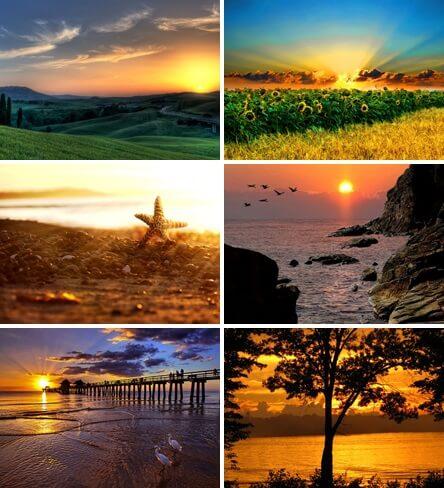sfondo tramonti