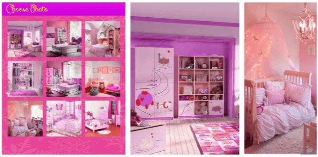 Puzzle Barbie Room