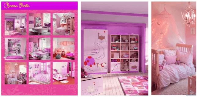 Puzzle Barbie Room