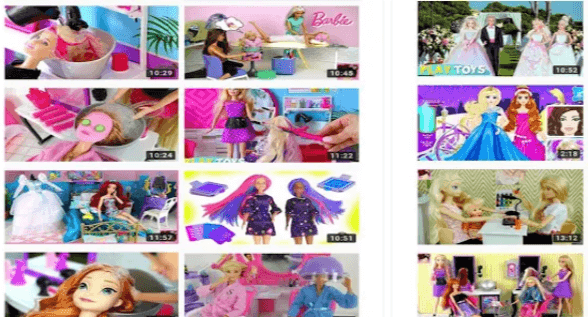 i giochi di barbie Sweet Barbie Salon Routine