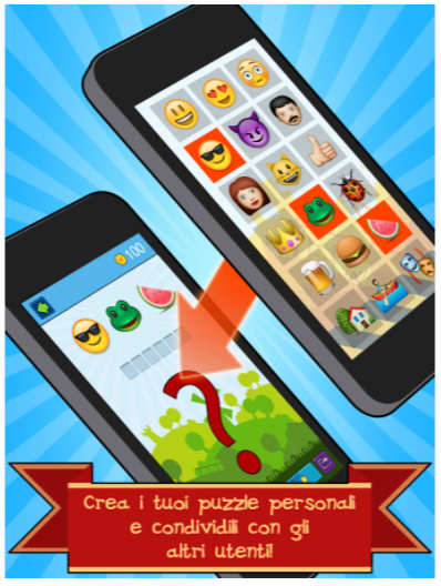 EmojiNation - App Rebus con Emoticon
