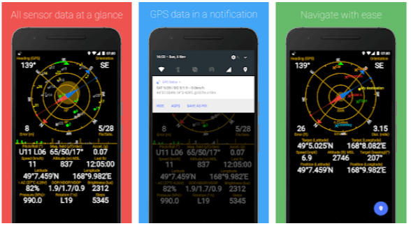 Ottimizzare gps Android GPS Status Toolbox