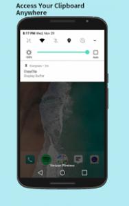 copia e incolla con android con copy clip