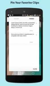 copy clip - copia e incolla con android