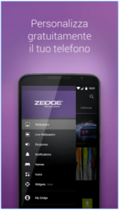 ZEDGE™ personalizzare Android