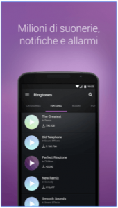 ZEDGE™ personalizzare suonerie Android