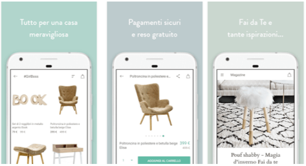 App dalani per arredare la casa fashion android for App per arredare casa gratis