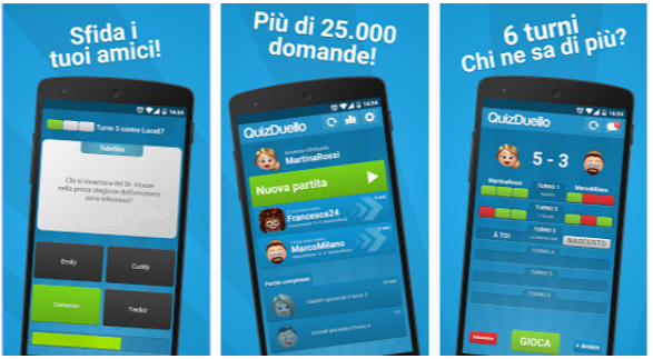 QuizDuello - App Android