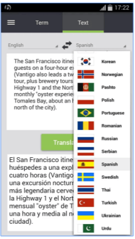 Babylon Translator - App Android