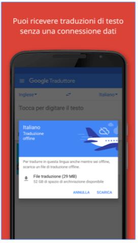 Google App Traduttore