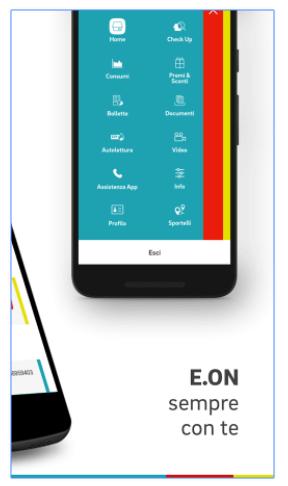 app eon per controllare bollette smartphone